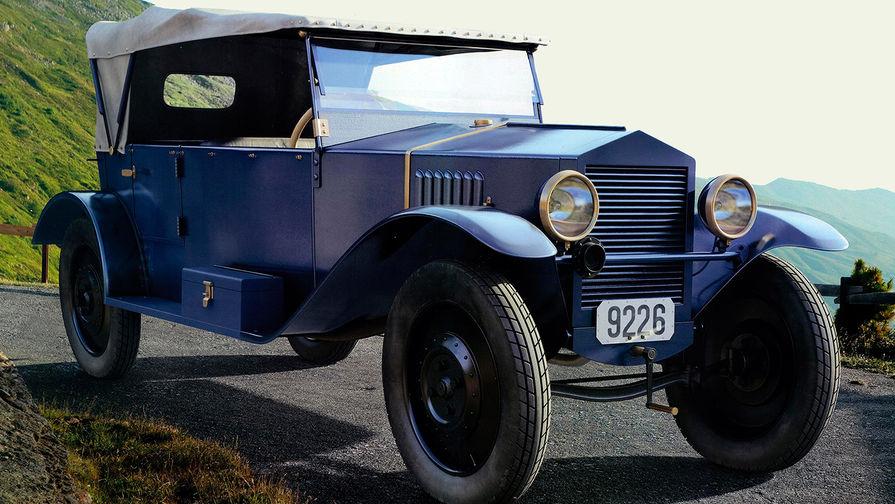Самый первый автомобиль в ссср