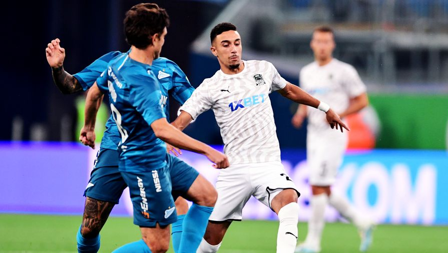 «Краснодар» и «Зенит» объявили составы на матч чемпионата России