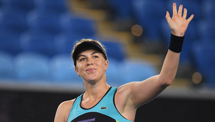Анастасия Павлюченкова на Australian Open-2020