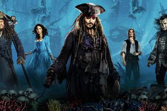 Промопостер к фильму «Пираты Карибского моря: Мертвецы не рассказывают сказки»