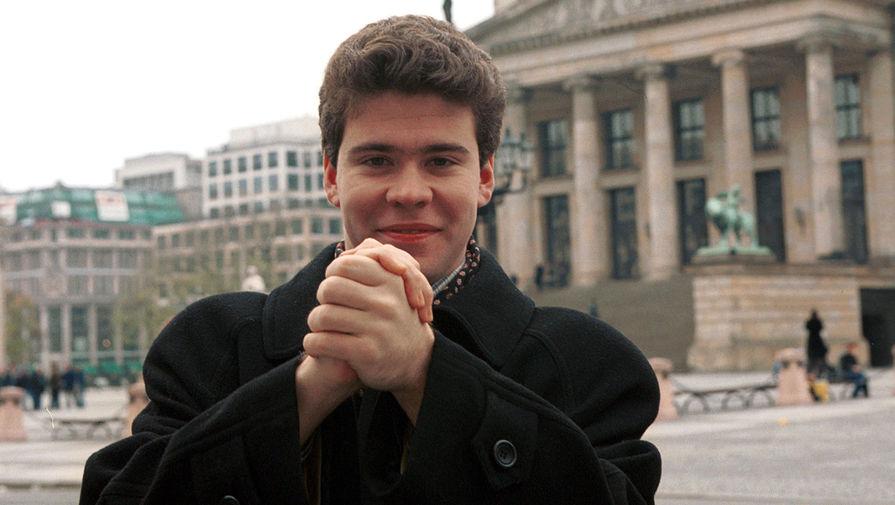 Денис Мацуев во время поездки в Берлин, 1999 год