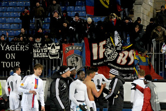 «Базель» празднует в Санкт-Петербурге выход в четвертьфинал