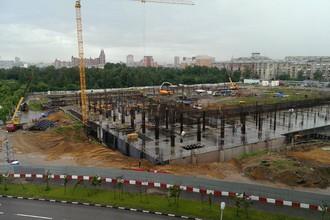 Так выглядел стадион ЦСКА две недели назад