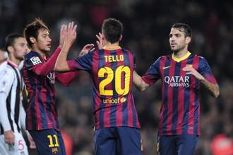 Футболисты «Барселоны» без труда расправились с «Картахеной»
