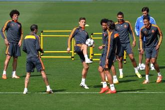 Криштиану Роналду и его партнеры по «Реалу» готовятся дать бой «Баварии» в домашнем матче 1/2 финала Лиги чемпионов
