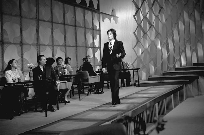 Яак Йоала на «Голубом огоньке», 1978 год
