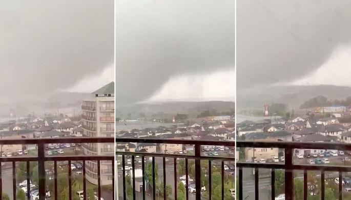 Атака с моря: Япония встречает смертельный тайфун «Хагибис»