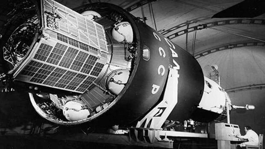 Подготовка орбитальной станции «Салют-1»