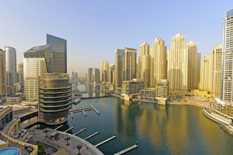 Район Дубай Марина в самом сердце города, известный как «новый Дубай»
