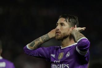 Защитник мадридского «Реала» Серхио Рамос.