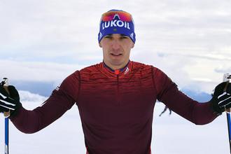 Лыжник Евгений Белов