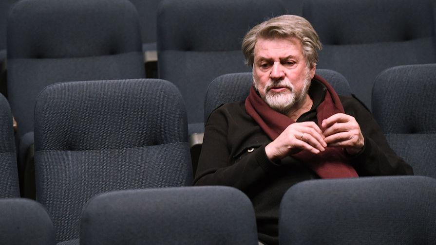 Александр Ширвиндт после спектакля в Театре сатиры, 2018 год