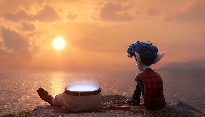 Кадр из мультфильма «Вперед» (2020)