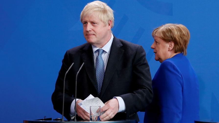 Ставка на Меркель: Лондон рассчитывает на Германию в соглашении с ЕС