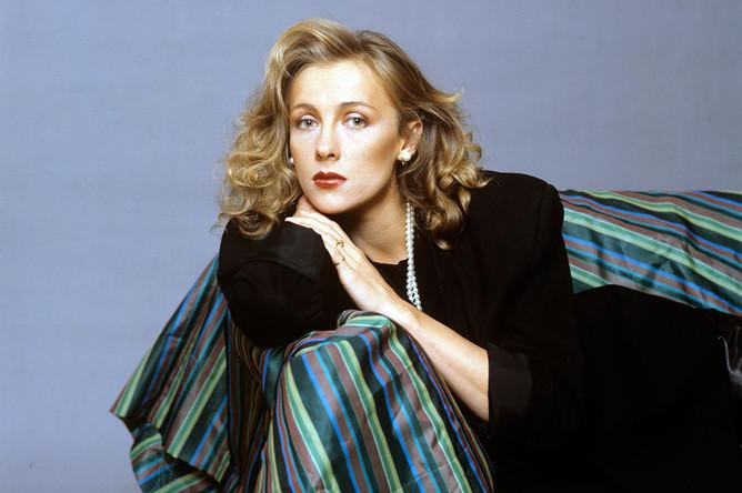 Актриса театра и кино Елена Яковлева, 1991 год