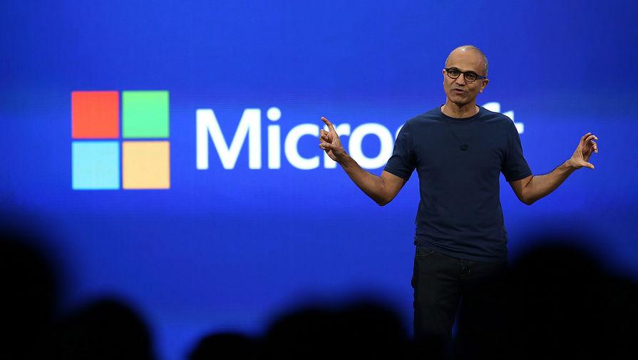 Генеральный исполнительный директор Microsoft Сатья Наделла