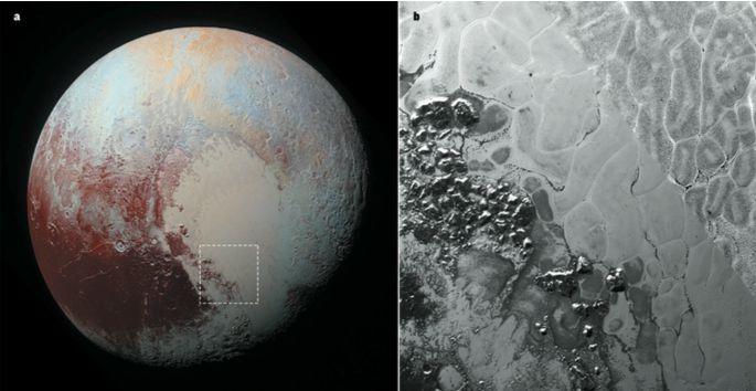 Ученые объяснили фигуры на Плутоне