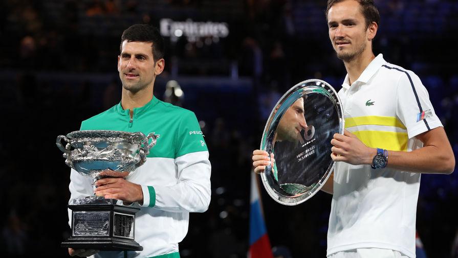 Новак Джокович и Даниил Медведев в финале Australian Open — 2021