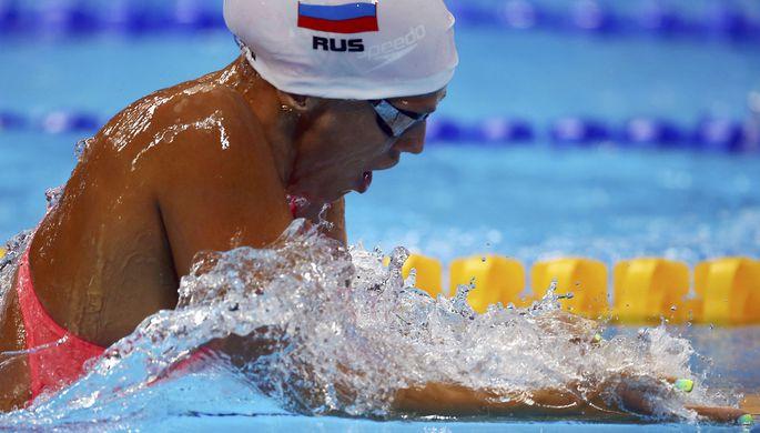 Россиянка Юлия Ефимова в финал на дистанции 200 м брассом