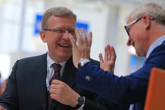 Алексей Кудрин и Александр Шохин