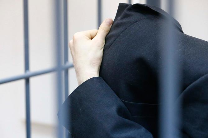 Предполагаемый организатор теракта в Санкт-Петербурге Аброр Азимов в Басманном суде Москвы, 18 апреля 2017 года