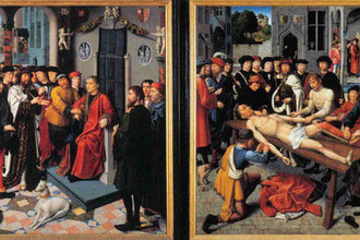 Герард Давид. Суд Камбиса. 1498