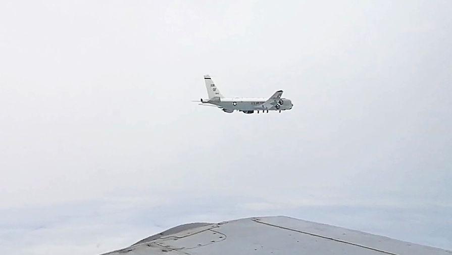 Японское море: истребители вылетали на перехват самолета ВВС США