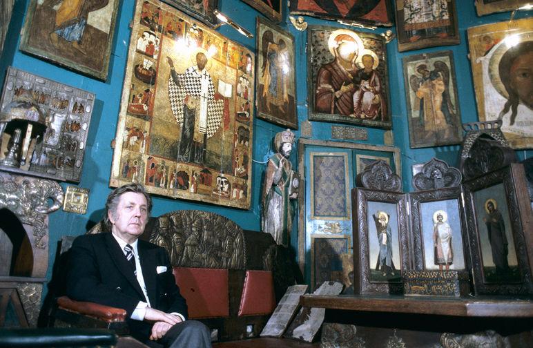 Народный художник СССР Илья Глазунов, 1986 год