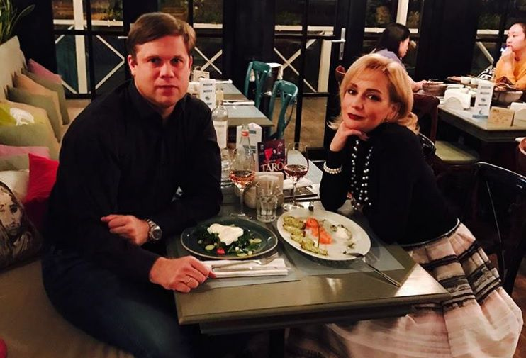 Певица Татьяна Буланова и бывший футболист «Зенита» Владислав Радимов