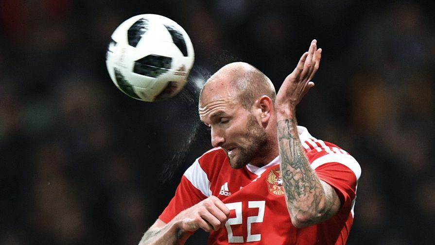 Рауш пропускает тренировку сборной России перед игрой со Швецией