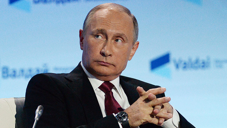 Политика Путина вновь стала главной темой на Украине