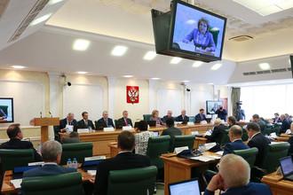 Слушания на тему «Предотвращение вмешательства во внутренние дела РФ» в Совете Федерации, 7 июня 2017 года