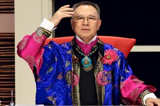 Вячеслав Зайцев на съемках программы «Модный приговор» на Первом канале, 2007 год