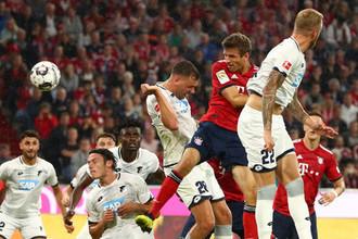 Эпизод матча «Бавария» — «Хоффенхайм»