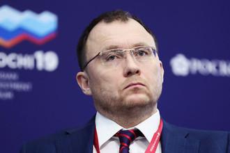Генеральный директор Tele2 Сергей Эмдин на сессии «Большие данные как новая форма государственного управления» в рамках инвестиционного форума в Сочи, 14 февраля 2019 года