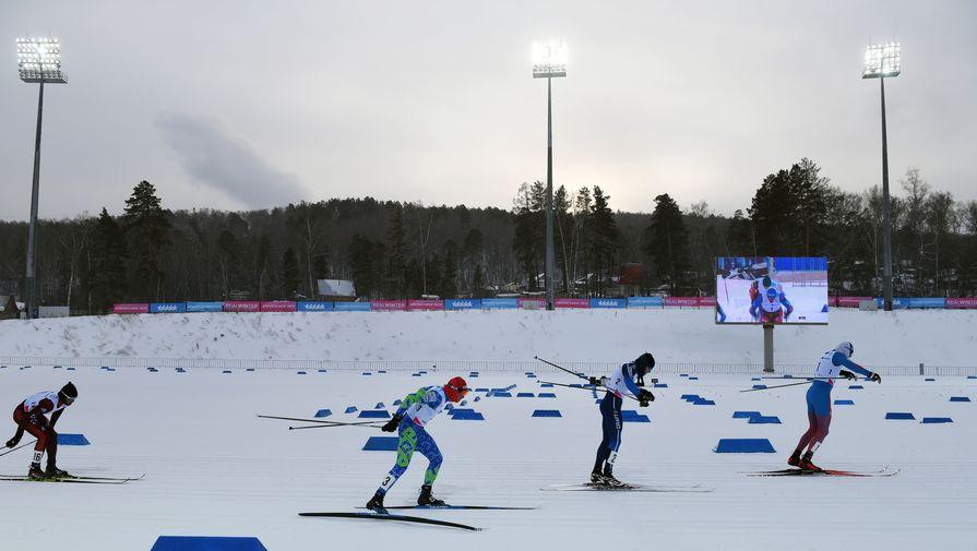 Лыжная эстафета на Универсиаде