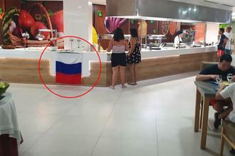 Испорченный ужин: российский флаг помешал украинцам в Испании