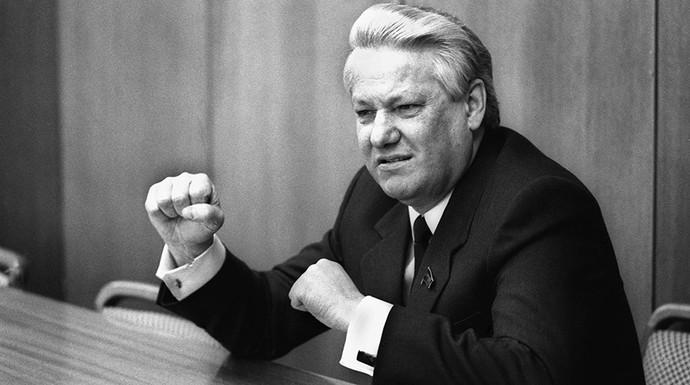 Борис Ельцин, 1989 год
