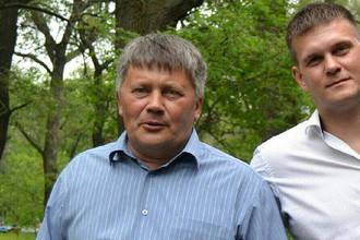 Александр Черекаев (слева) со своим сыном