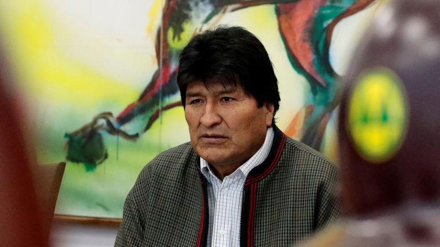 Бывший президент Боливии Моралес вылетел на Кубу