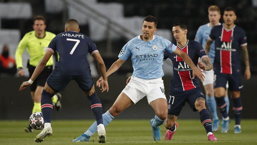 Эпизод матча «ПСЖ»- «Манчестер Сити»