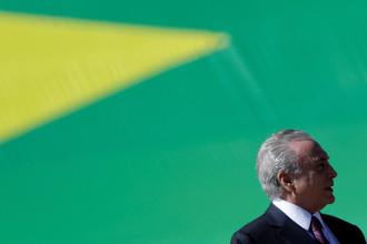 Президент Бразилии Мишель Темер, 9 июня 2017 года
