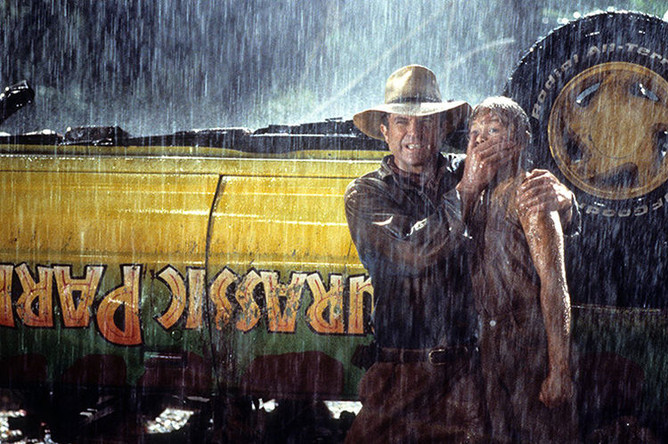 Кадр из фильма «Парк Юрского периода» (1993)