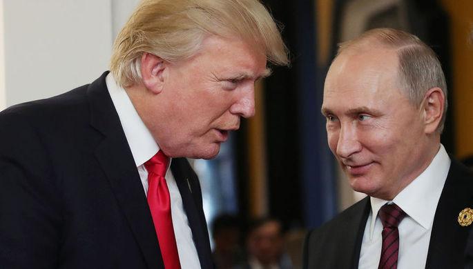Трамп не исключил разговора с Путиным о «вмешательстве» в выборы