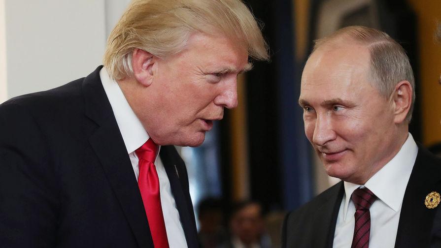 «Не ваше дело»: Трамп о переговорах с Путиным