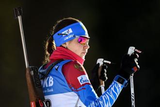 Российская биатлонистка Валерия Васнецова