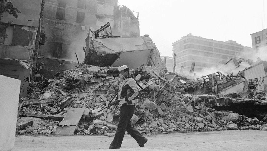 Разрушенный Мехико, 19 сентября 1985 года