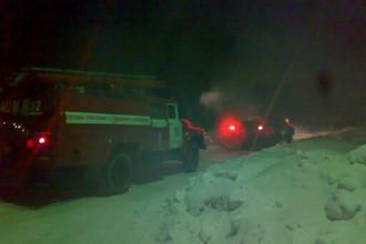 Крупный пожар на Байкальском ЦБК произошел в ночь на 7 февраля
