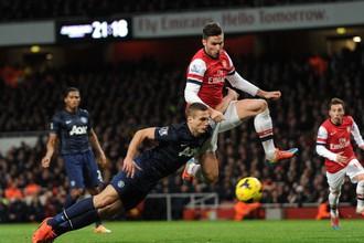 Оливье Жиру так и не удалось распечатать ворота «Манчестер Юнайтед»