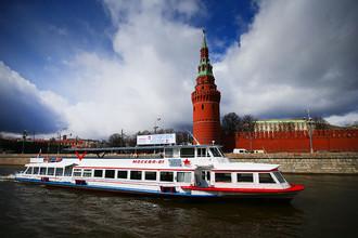 Началась навигация по Москве-реке
